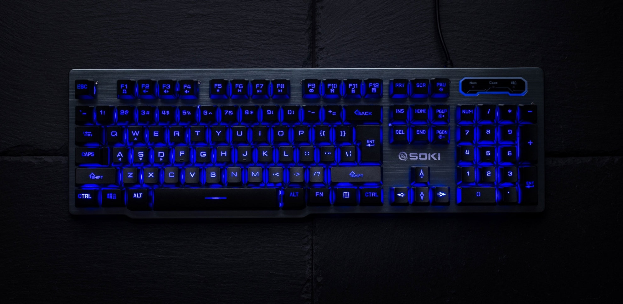 ZeroGround Soki - Gaming keyboard