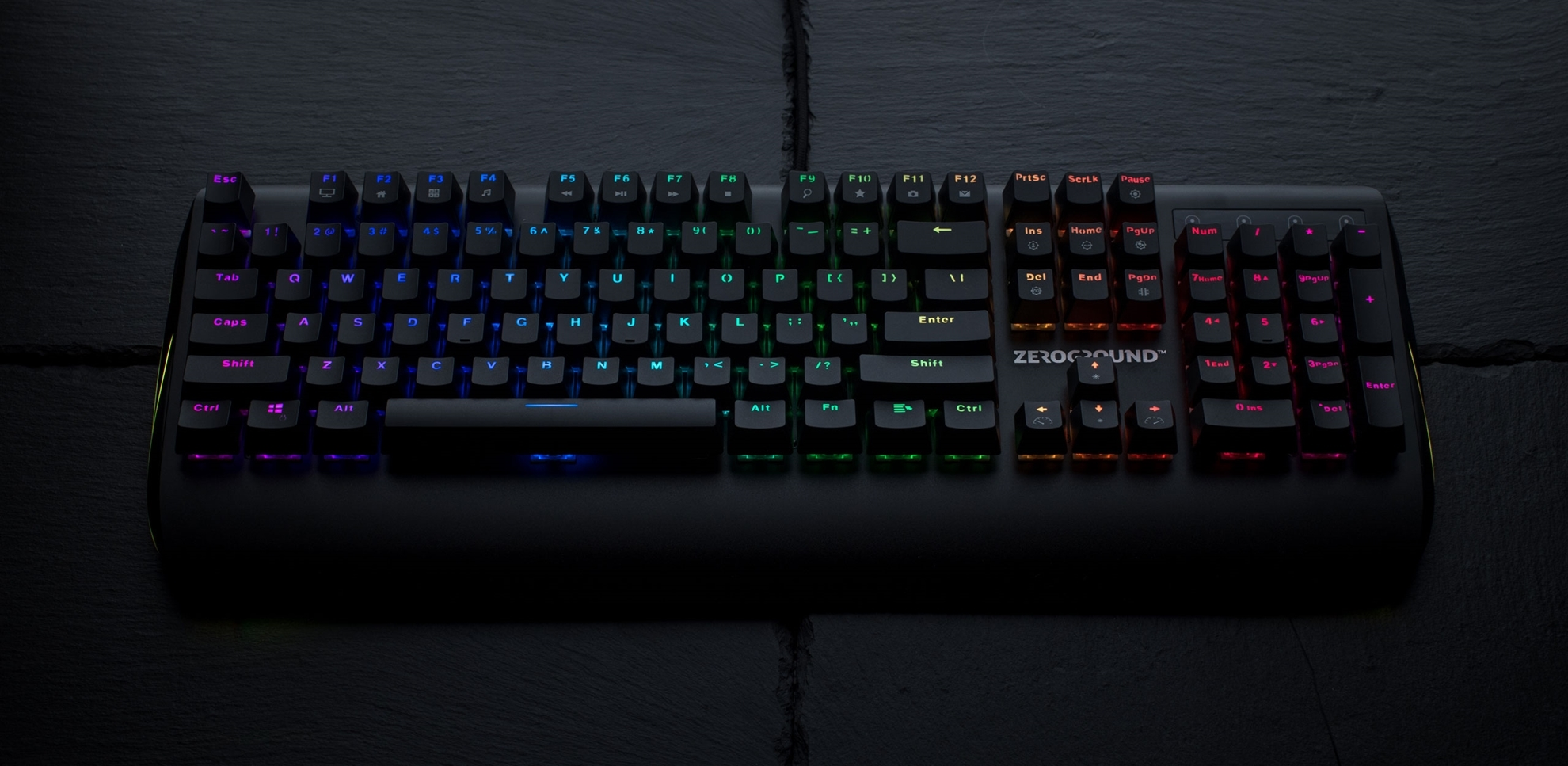 ZeroGround Sakimo - Gaming keyboard