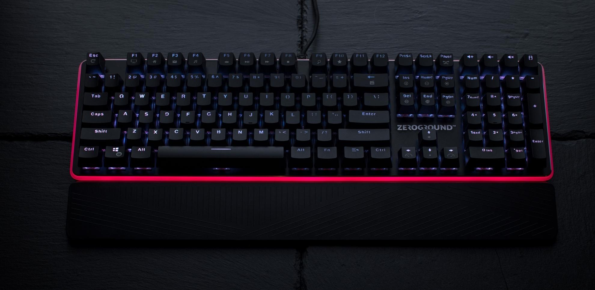 ZeroGround Satomi - Gaming keyboard