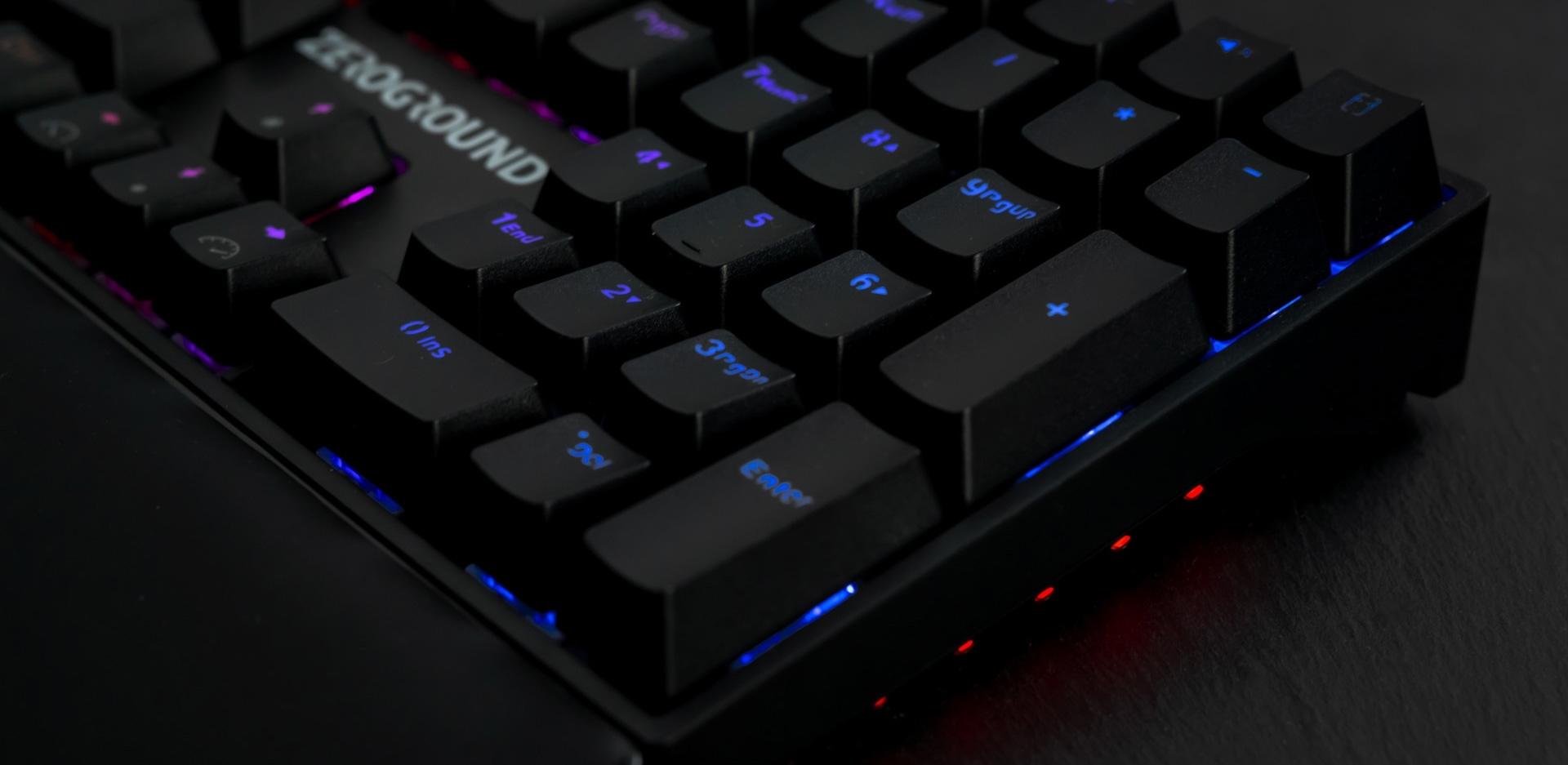 ZeroGround Tonado Mini - Gaming keyboard