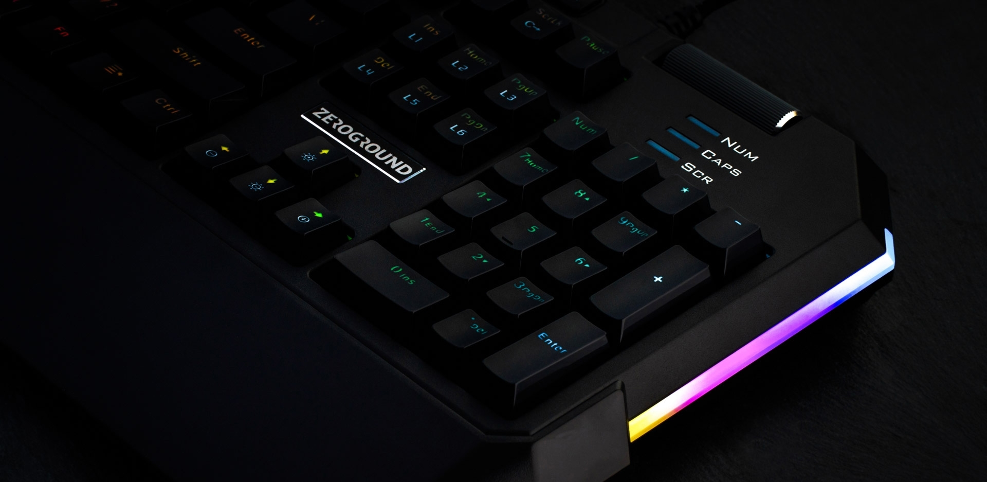 ZeroGround Taigen 3.0 - Gaming keyboard