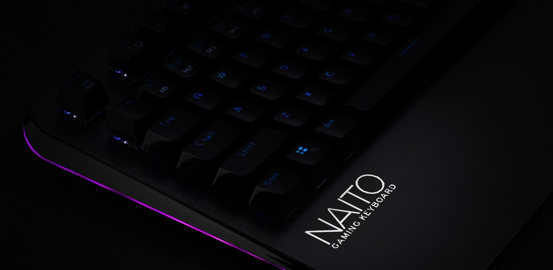 ZeroGround Naito - Gaming keyboard