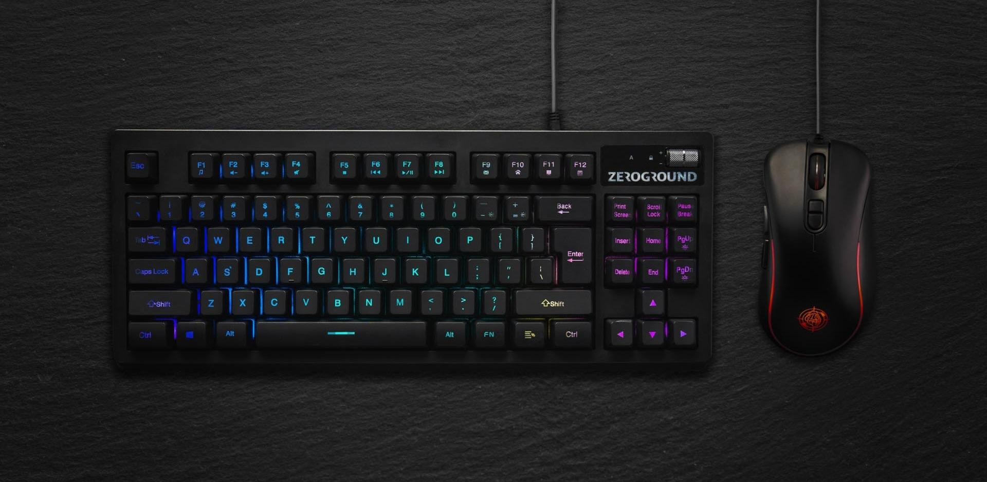 ZeroGround Aochi - Gaming set